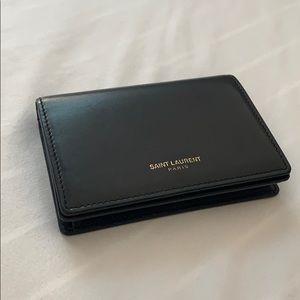 Saint Laurant Business card holder
